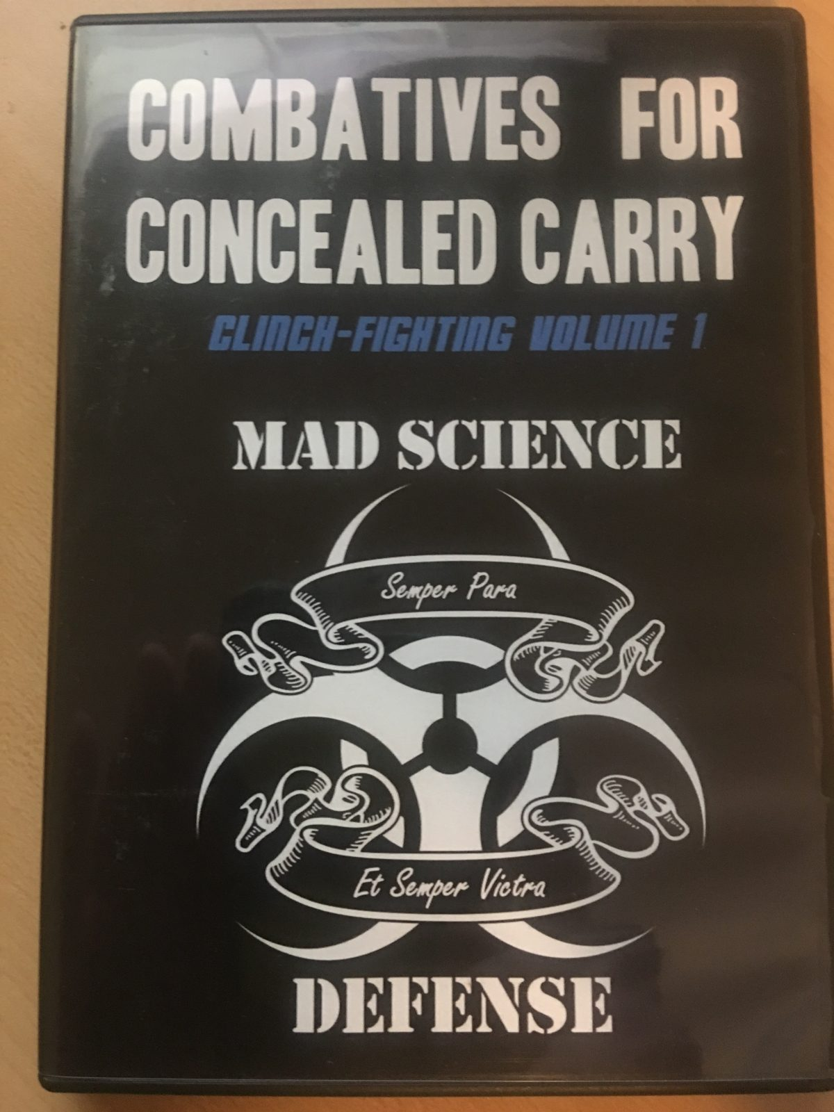 Review: Combatives For Concealed Carry: Clinch Fighting Volume 1