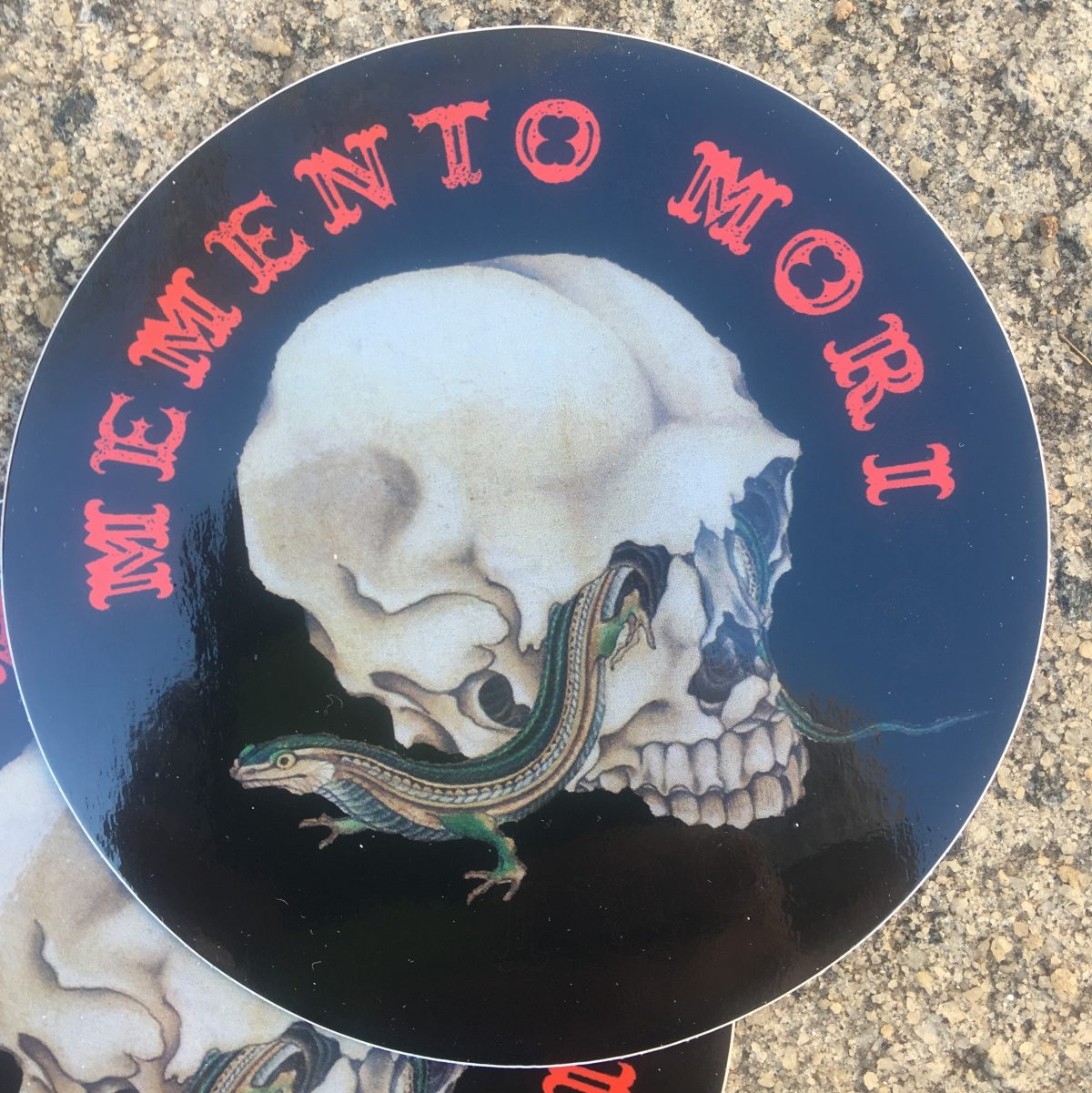 Memento Mori – 4″ Decal